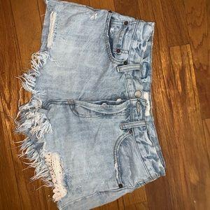 Free People size 26 jean shorts!